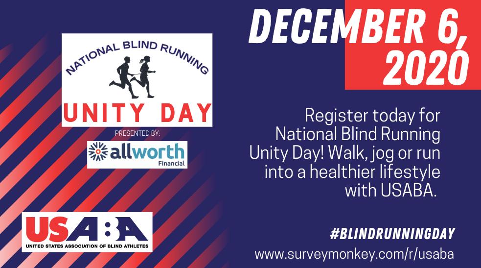 blind running day
